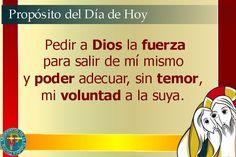 Misioneros de la Palabra Divina: PROPÓSITO DEL DÍA