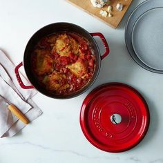These pots are world-renowned for a reason. #Food52 #Staub #shop