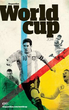 Guardian World Cup 2014 supplement cover (A5 size)