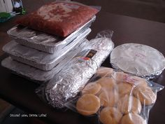 Make Ahead Freezer Meals | Dessert Now, Dinner Later!  Tips & Tricks for what & how to freeze certain foods.