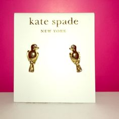 """TAKE 25% OFF Kate Spade ♠️ """"Caged"""" Birds Earrings NWTs Kate Spade ♠️ """"Caged"""" Birds Earrings • smoke free home   CYBER WEEKEND SALE: 1️⃣Buy 1 @ 25% Off 2️⃣Buy 2 @ 30% Off 3️⃣Buy 3 @ 35% Off 4️⃣Buy 4 or More & Get 40% off Bundle... BUY MORE SAVE MORE  SALE prices are off ORIGINAL prices. IF INTERESTED I WILL CREATE A NEW LISTING as I have 2. Thanks & Happy Poshing! ✨ kate spade Jewelry Earrings"""