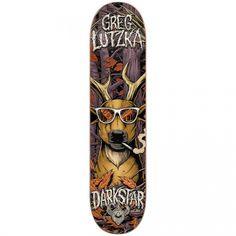 Darkstar Skateboards Darkstar Greg Lutzka Deerhunter R7 Deck 8.125x31.8