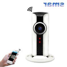 27.72$  Buy here - http://alingb.worldwells.pw/go.php?t=32768214870 - Smar Mini Wifi IP Camera 720P HD Smart P2P Baby Monitor CCTV Security Camera 180 Degree Panoramic Fisheye Lens Two Way Audio 27.72$