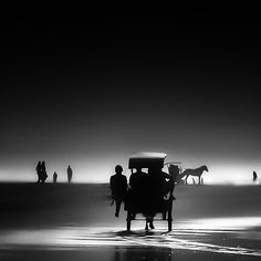 Journey, taken by Hengki Koentjoro at Parangtritis beach - Yogyakarta