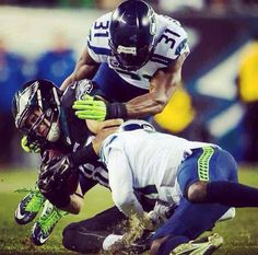 Kam Chancellor getting it done!