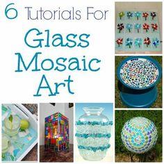 6 Tutorials For Glass Mosaic Art