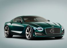 Six of the best electric and hybrid car designs from the Geneva Motor Show | Bentley EXP 10