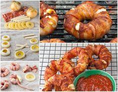How to DIY Bacon Pineapple Mozzarella Rings | iCreativeIdeas.com Follow Us on Facebook --> https://www.facebook.com/icreativeideas