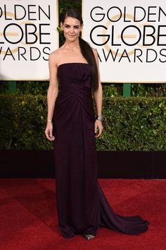 Katie Holmes at the 72nd Golden Globe Awards