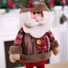 New 2019 Merry Christmas Ornaments Christmas Gift Santa Claus Snowman Tree Toy Doll Hang Decorations For Home Enfeites De Natal Merry Christmas, Christmas Gifts, Christmas Ornaments, Doll Toys, Dolls, Snowman Tree, Christmas Characters, Christmas Stockings, Santa