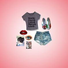 One Direction inspired outfit