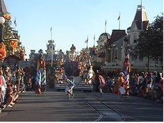 Be sure to find a good spot at the Magic Kingdom to observe one of the parades that make its way through the streets, spreading celebration and cheer to all of Disney's guests!  Look for familiar characters and celebrate your day with them!