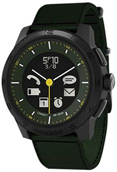 Cookoo 2 SmartWatch, Khaki – Retail Packaging  For the awesome Cookoo Smartwatches make sure you visit: http://www.smartwatchnet.com/product-category/smartwatches/cookoo/  #cookoo #smartwatch #wearables