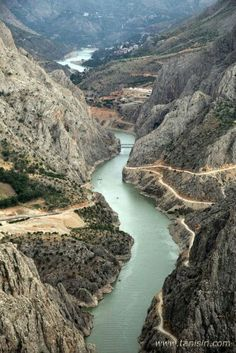 Karasu river (Firat's), Erzincan, Turkey.