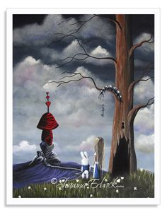 Alice In Wonderland Art Prints - www.shawnaerback.com