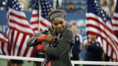 Serena in victory at the US Open, congratulations on your 5th title!!!
