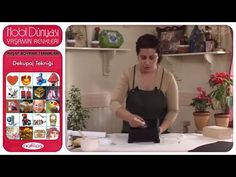 Ahşap Boyama Teknikleri - Dekupaj Tekniği - YouTube