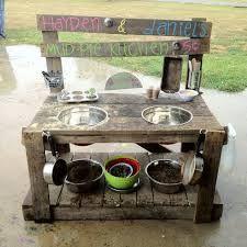 Image result for mud kitchen