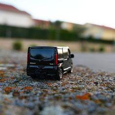 Renault Trafic model car
