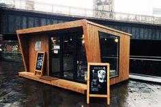 Grindsmith Coffee Manchester - Shipping Container.