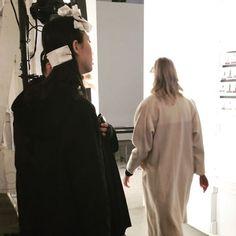 Ensaio geral do desfile de Katty Xiomara. #backstage #fw1718 #newyorkfashionweek #kattyxiomara  via ELLE PORTUGAL MAGAZINE OFFICIAL INSTAGRAM - Fashion Campaigns  Haute Couture  Advertising  Editorial Photography  Magazine Cover Designs  Supermodels  Runway Models