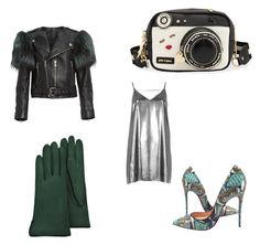 """""""Money green"""" by courtneycarey on Polyvore featuring River Island, Marc Jacobs, Christian Louboutin, Betsey Johnson and Forzieri"""