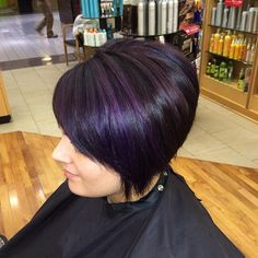 purple highlights......WHY NOT?? Could be fun!!