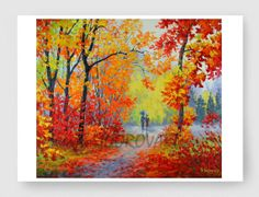 OIL Painting LANDSCAPE Painting Giclee Print Canvas by sidorovart, $25.00