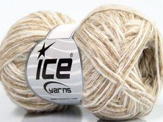 Fiber Content 52% Wool 30% Polyamide 18% Alpaca Brand Ice Yarns Cream Beige fnt2-44123