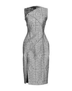 Antonio Berardi Knee-length Dress In Grey Antonio Berardi, Dresses For Work, Formal Dresses, Gray Dress, World Of Fashion, Luxury Branding, Clothes For Women, Grey, Collection