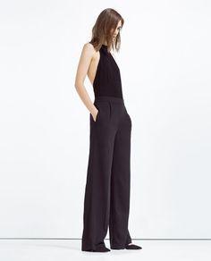 HALTER NECK BODYSUIT from Zara