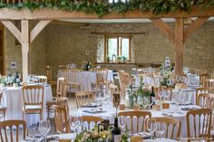 Barn Wedding Flowers, Kingscote Barn, Countryside, Table Settings, Table Decorations, Image, Design, Home Decor, Homemade Home Decor