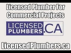 Mississauga Commercial Plumber - http://LicensedPlumbers.ca. Are you searching for a commercial plumber in Mississauga, Ontario? Consider hiring the commercial plumbing experts at LicensedPlumbers.CA. Experienced plumbers for all types of commercial plumbing service and new plumbing rough ins. Service to commercial business property owners, home renovators, pizzerias, real estate agents, home flippers, dental offices, spas, high end projects, fast food chains, hotels, general contractors.