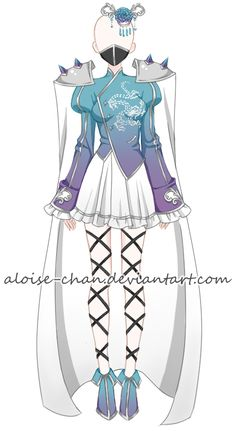 [CM] Chinese Tactician Armour @DarksoniaExorsus by Aloise-chan.deviantart.com on @DeviantArt