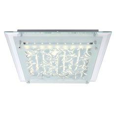 EEK A+, LED-Deckenleuchte Algarve - Metall / Glas - 50.9, Globo Lighting Jetzt bestellen unter: https://moebel.ladendirekt.de/lampen/deckenleuchten/deckenlampen/?uid=7c6e0654-05bf-5722-b8c9-bfd59843be4a&utm_source=pinterest&utm_medium=pin&utm_campaign=boards #deckenleuchten #lampen #innenleuchten #globo #deckenlampen #lighting
