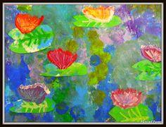 PAINTED PAPER: Monet Masterpieces