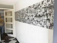 Wall of Favorites, wandcollage afgedrukt op hoogwaardig kunststof, al je favoriete foto's elke dag om van te genieten. Photo Wall Collage, Picture Wall, Diy Bedroom Decor, Diy Home Decor, Family Wall Decor, Photo Deco, Creative Decor, Colorful Interiors, Decoration