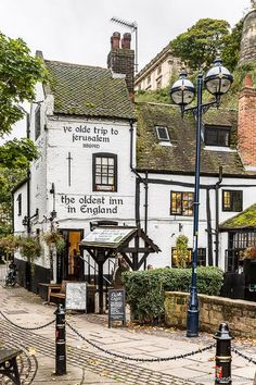 I'm in England's Lake District this weekend, and it's reminding me of my great British road trip in September. This pub in Nottingham was one of my favorite discoveries. It's said to be the oldest in England. The Places Youll Go, Places To See, British Pub, British Isles, British History, England And Scotland, English Countryside, Lake District, London England