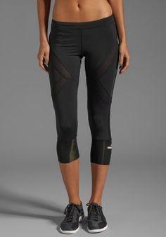 8c7e9bbf88c74 ADIDAS BY STELLA MCCARTNEY 2005 3 4 Tight Legging in Black - adidas by  Stella
