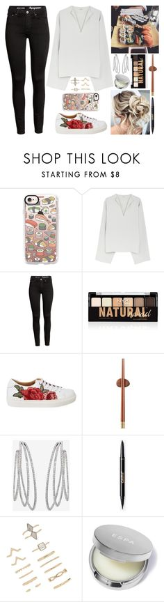 """""""Sushi Date"""" by lucy-wolf ❤ liked on Polyvore featuring Casetify, NYX, Zens Lifestyle, Messika and Forever 21"""