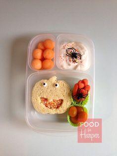 Preschool Pumpkin  :: Bento Bloggers and Friends Halloween HOP!!
