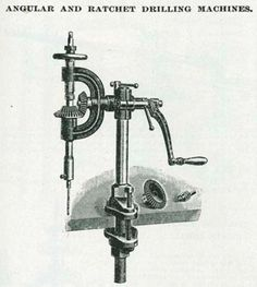 243 Best Antique & Vintage Hand Drills & Drill press