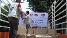 Gazze'ye Yardımlar Bombardıman Altında Devam Ediyor...işte ayrıntılar