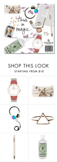 """""""Minimal serie - My life in 10 objects #2 - Francoflorenzi.com"""" by undici ❤ liked on Polyvore featuring VIcenza, Frends and Seltzer"""