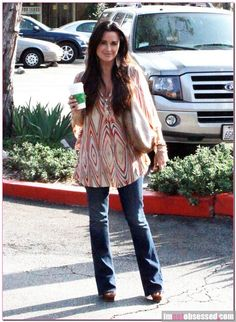 Kyle Richards...love her style, this top is gorg!