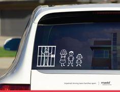 La familia en contra de manejar en estado de ebriedad
