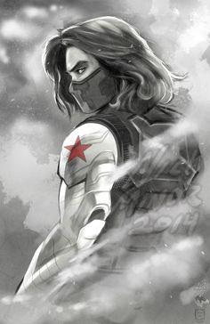 Winter Soldier by Radiant-Grey.deviantart.com on @deviantART