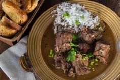 Dark and smoky, these turkey necks spice up a gumbo pot with flavor. (All photos credit: George Graham)