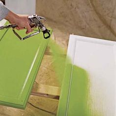 How-To repaint kitchen cabinets