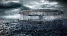 Prisión en el oceano - 2do Lugar - Noticias de Arquitectura - Buscador de Arquitectura